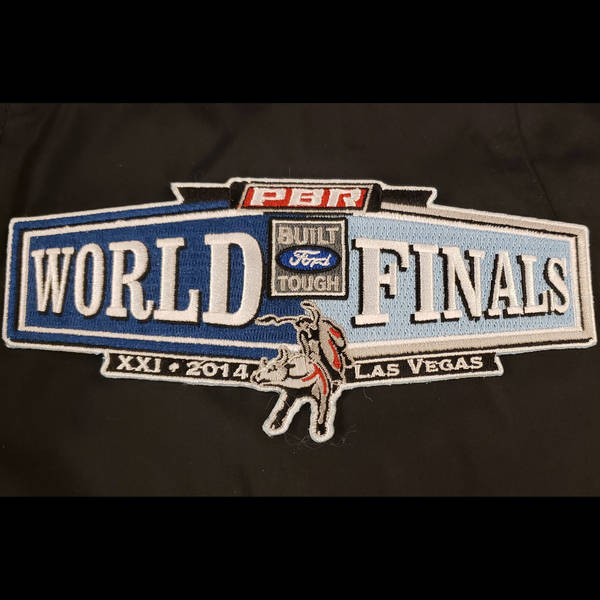 2014 World Finals Rider Vest Patch