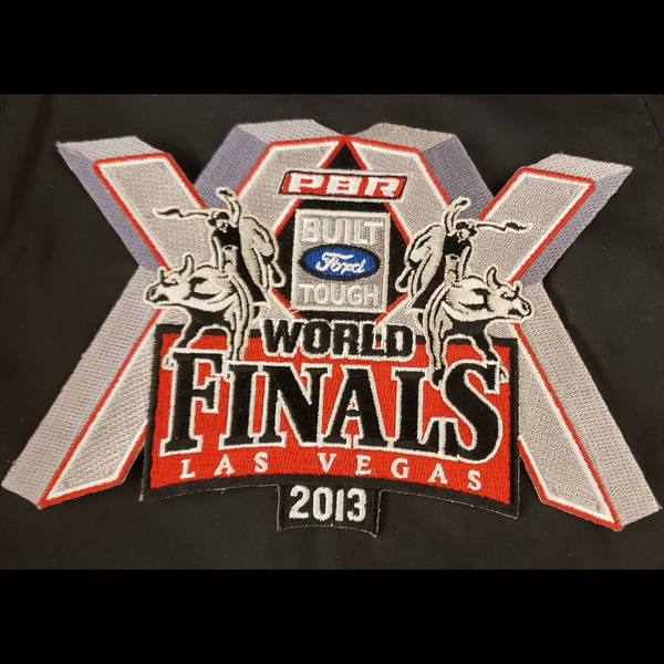 2013 World Finals Rider Vest Patch