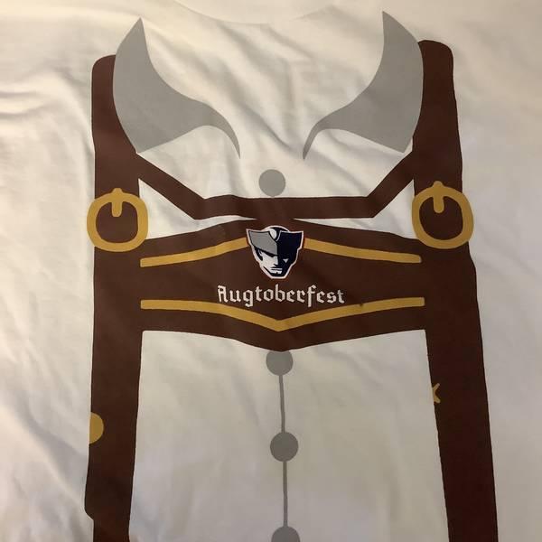 T-Shirt: Augtoberfest lederhosen