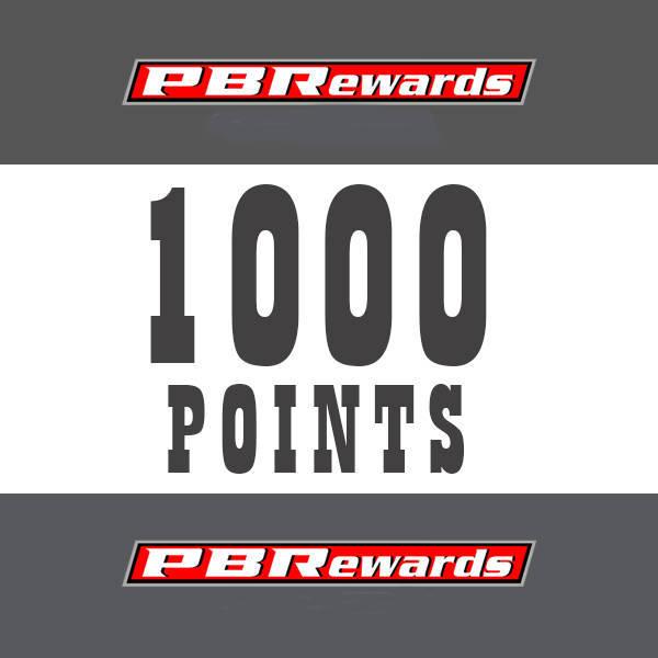 1000 PBRewards Points