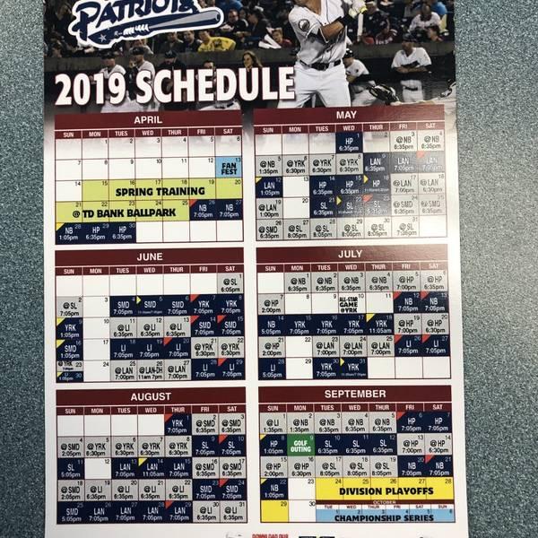 2019 Magnet Schedule