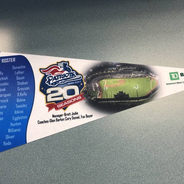 20 Seasons Celebration Pennant