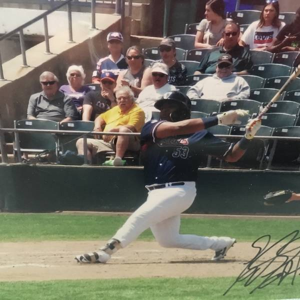 Edwin Espinal autographed photo