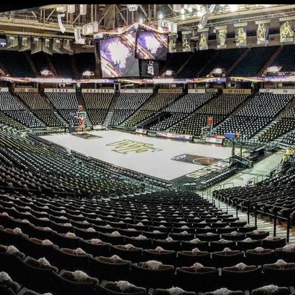 Virtual Tour: Lawrence Joel Memorial Coliseum