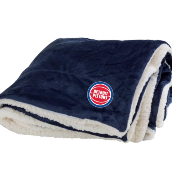 Pistons Sherpa Blanket