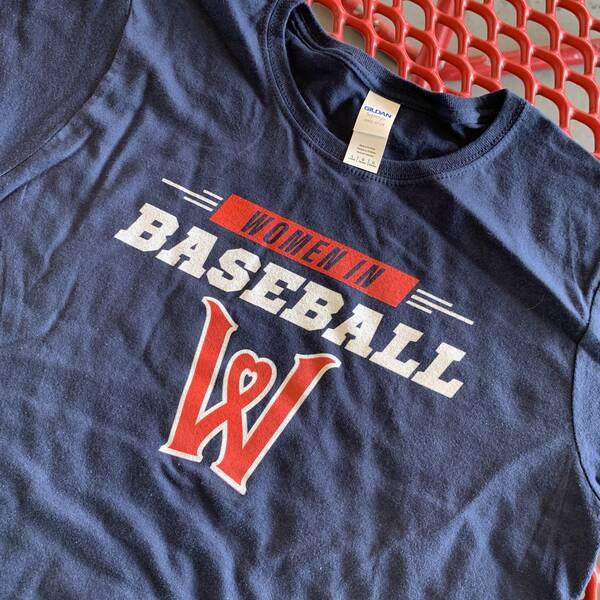 WooSox Women in Baseball T-Shirt