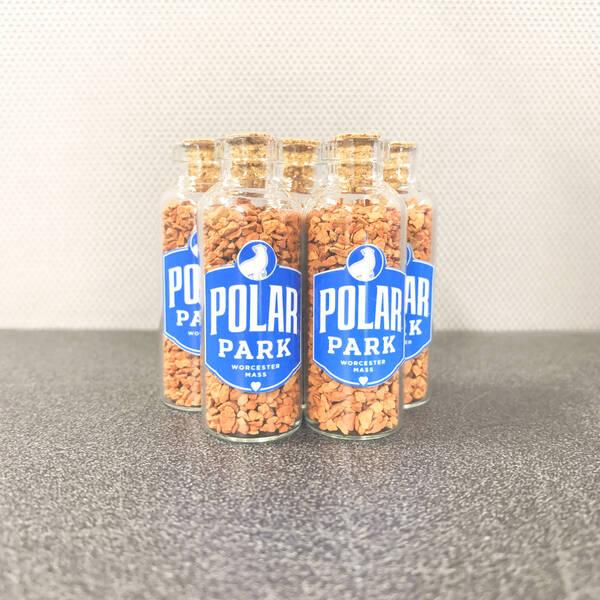 Authentic Polar Park Dirt - Polar Park Logo