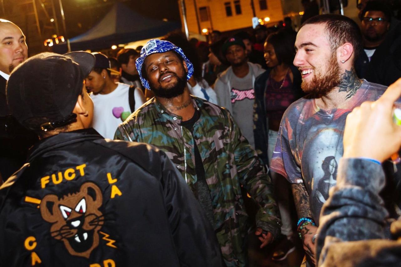 rappers SchoolBoyQ macmiller schoolboyq earlsweatshirt hiphopmusic watchingmovieswiththesoundoff music rapmusic