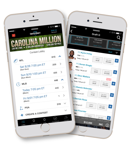 Experience daily fantasy on our highly-rated iOS App. Available now in the Apple App Store.