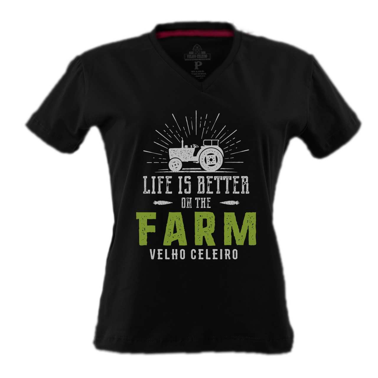 BABYLOOK FEMININA VELHO CELEIRO ON THE FARM