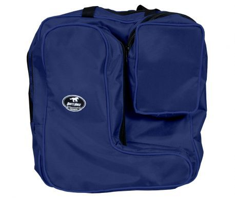 Bolsa com Porta Botas Boots Horse Azul Escuro