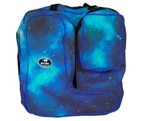Bolsa com Porta Botas Boots Horse Constelação Azul