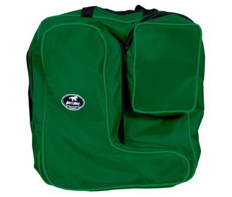 Porta Botas Com Bolso Boots Horse Verde Escura