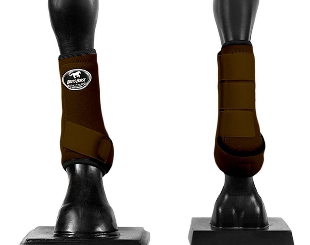 Caneleira Média Dianteira Boots Horse Color
