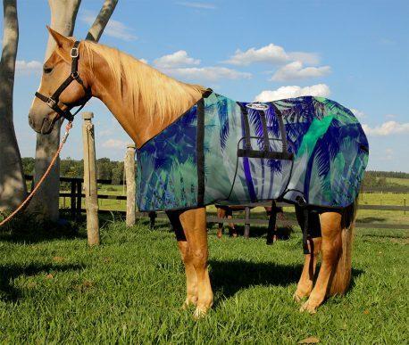 Capa Protetora com Barrigueira Boots Horse Palmeiras