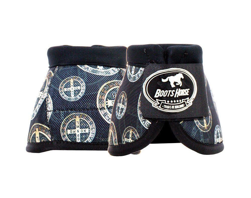 Cloche Boots Horse Estampa São Bento
