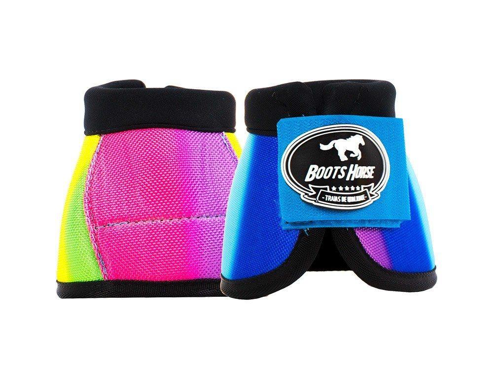 Cloche Boots Horse Estampa