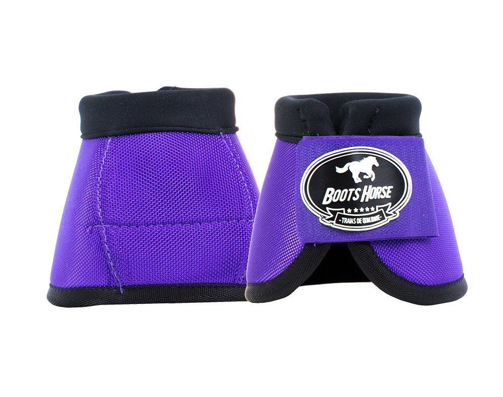 Cloche Color Roxo Boots Horse