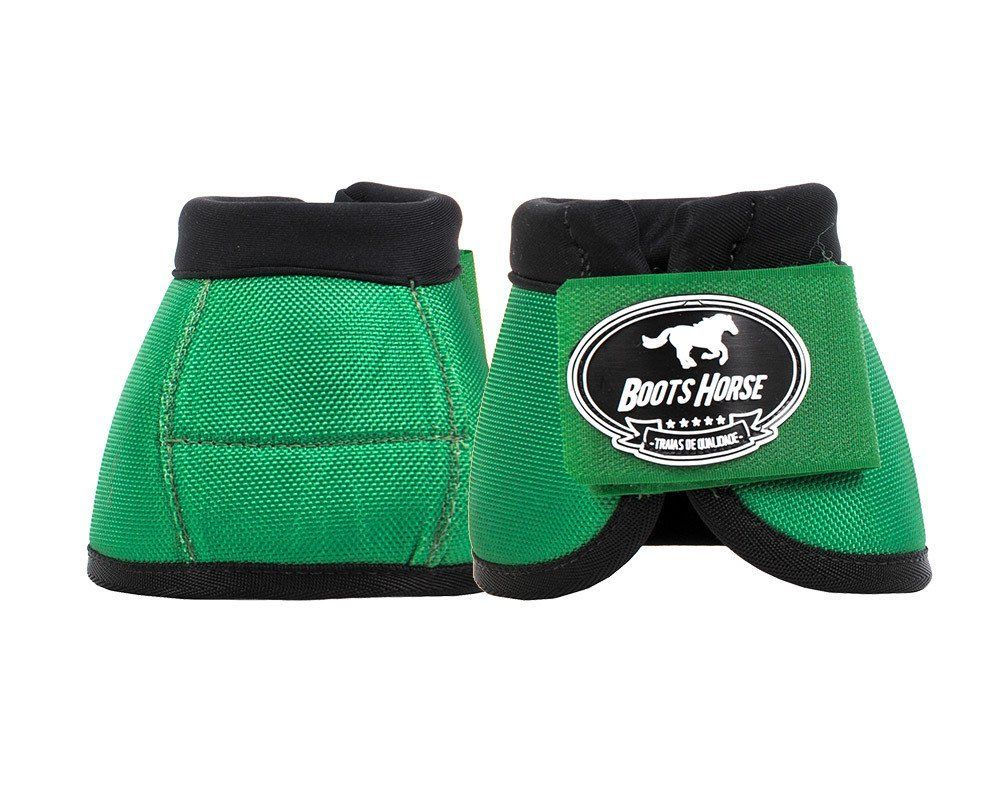 Cloche Color Verde Boots Horse