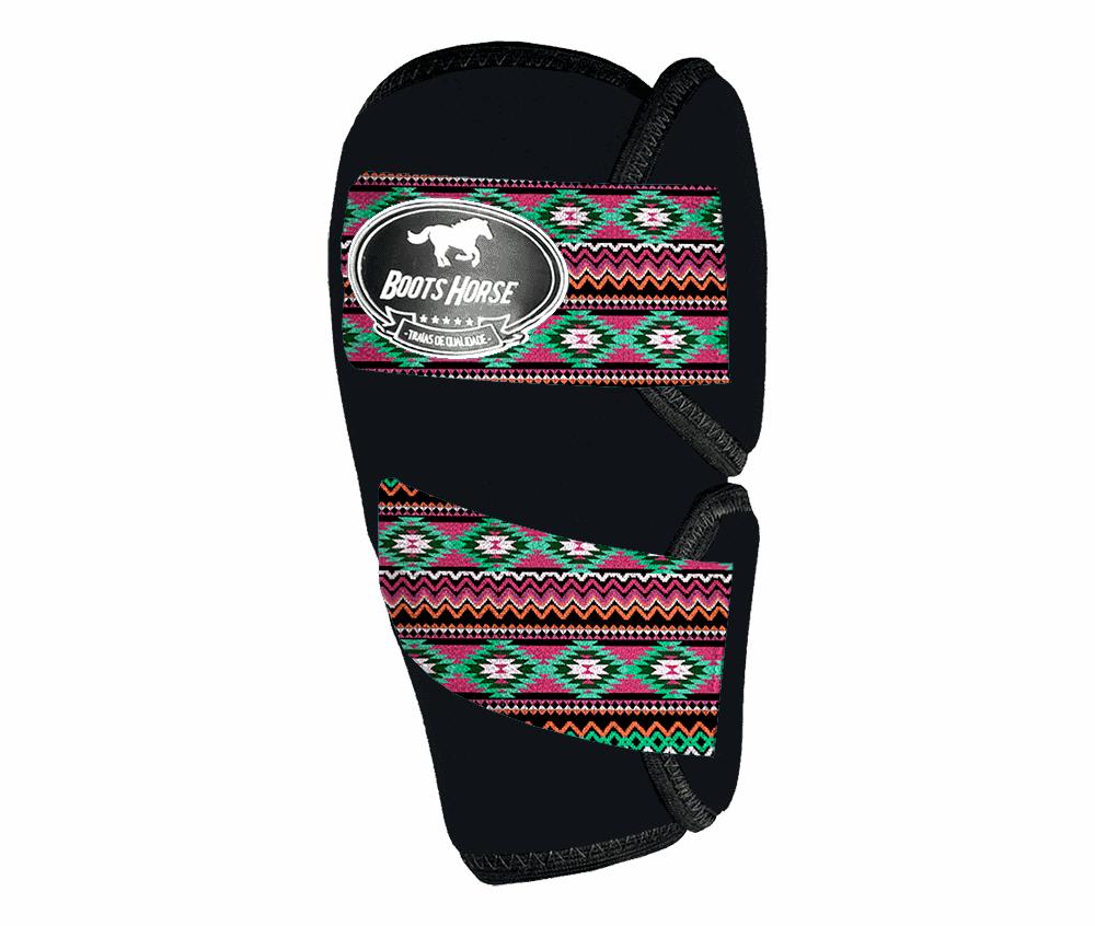 Joelheira Boots Horse Estampa (Velcro)