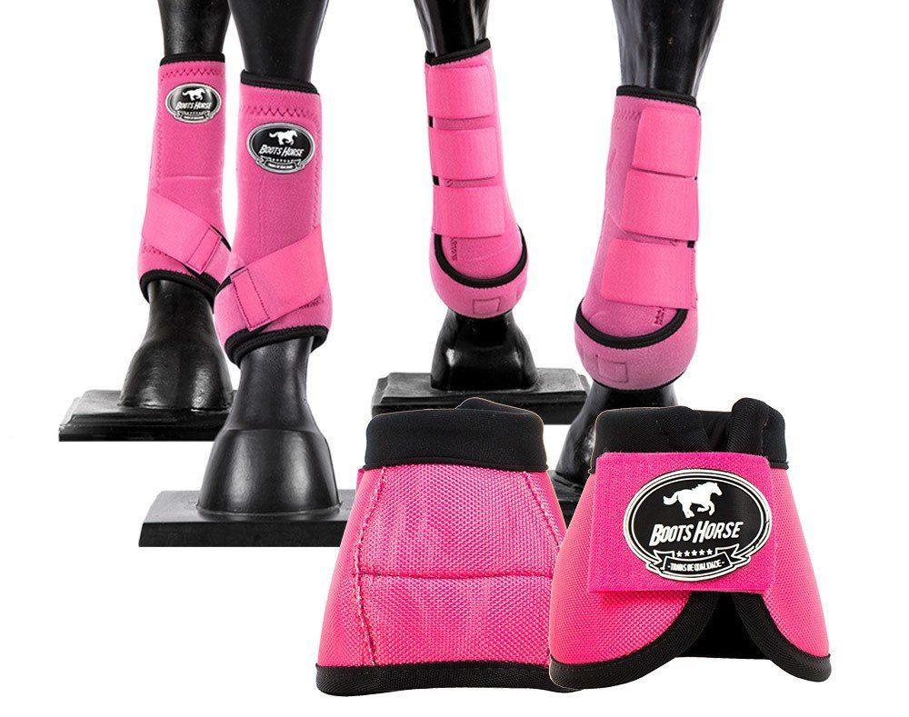 Kit Cloche + Boleteira Dianteira e Traseira Média Boots Horse Color