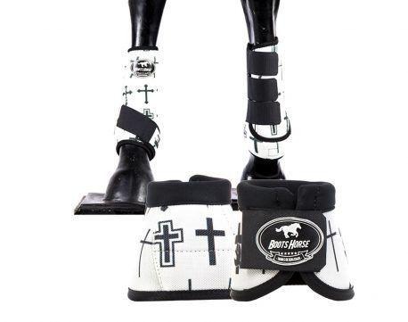 Kit Cloche + Boleteira Média Boots Horse Cruz