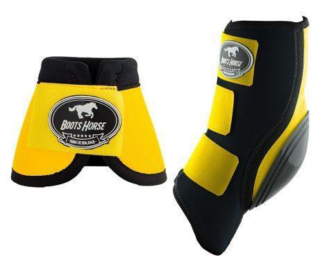 Kit Ventrix Boots Horse Amarelo