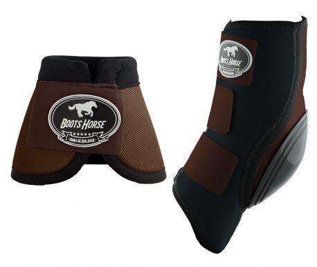 Kit Ventrix Boots Horse Marrom