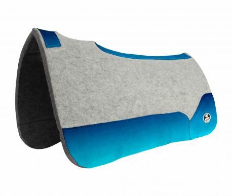 Manta de Tambor Free Model Quadrada Degrade Azul