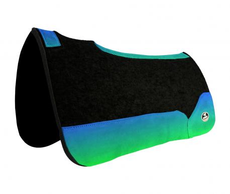 Manta de Tambor Free Model Quadrada Degrade Azul e Verde