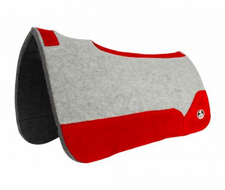Manta de Tambor Free Model Quadrada Vermelho