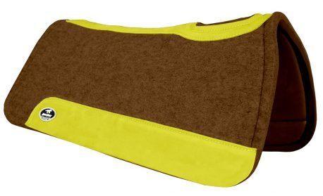 Manta de Tambor Rubber Quadrada Amarelo