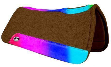 Manta de Tambor Rubber Quadrada Arco Iris