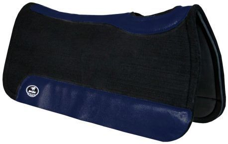 Manta de Tambor Rubber Quadrada Azul Escuro