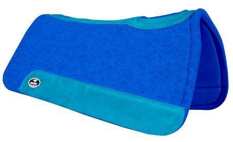 Manta de Tambor Rubber Quadrada Azul Piscina