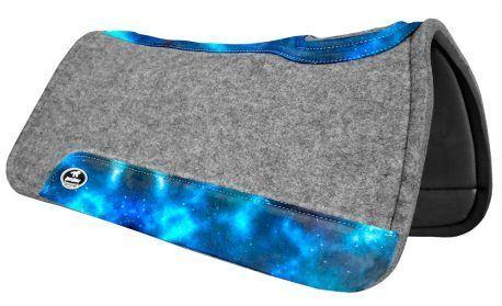 Manta de Tambor Rubber Quadrada Constelação Azul