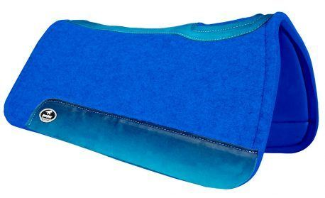 Manta de Tambor Rubber Quadrada Degrade Azul