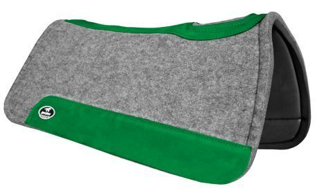 Manta de Tambor Rubber Quadrada Verde Escuro