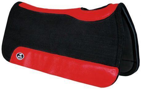Manta de Tambor Rubber Quadrada Vermelho