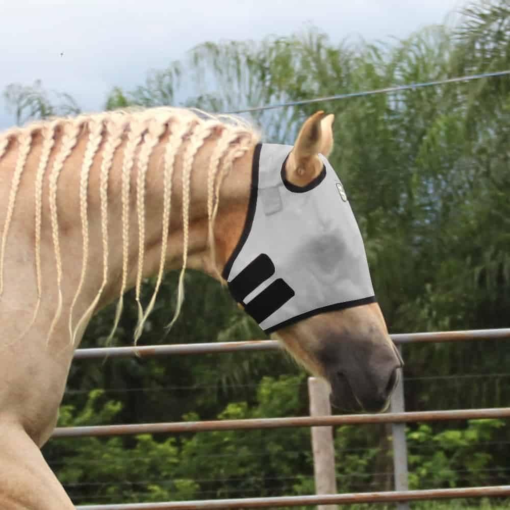Máscara Para Cavalo Boots Horse Branca