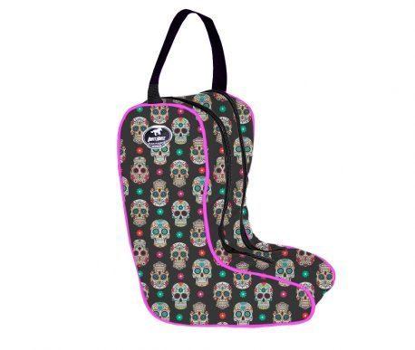 Porta Botas Boots Horse Caveira Mexicana