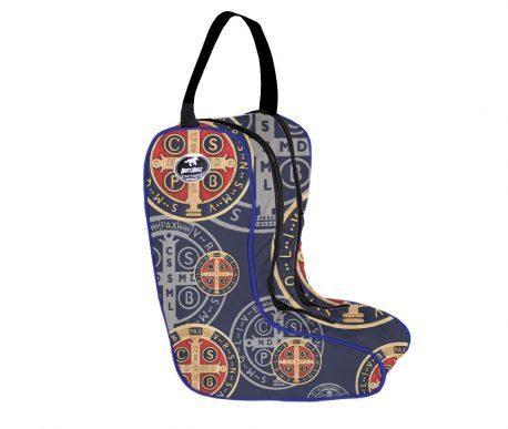 Porta Botas Boots Horse Medalha de São Bento