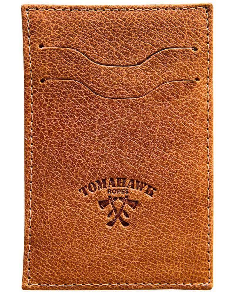 Porta Cartão Tomahawk Caramelo