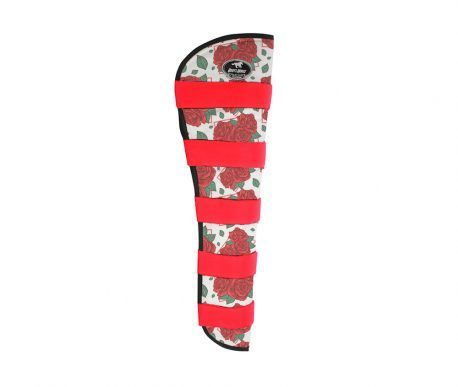 Protetor Para Viagem Extra Longo Boots Horse Rosas Vermelhas