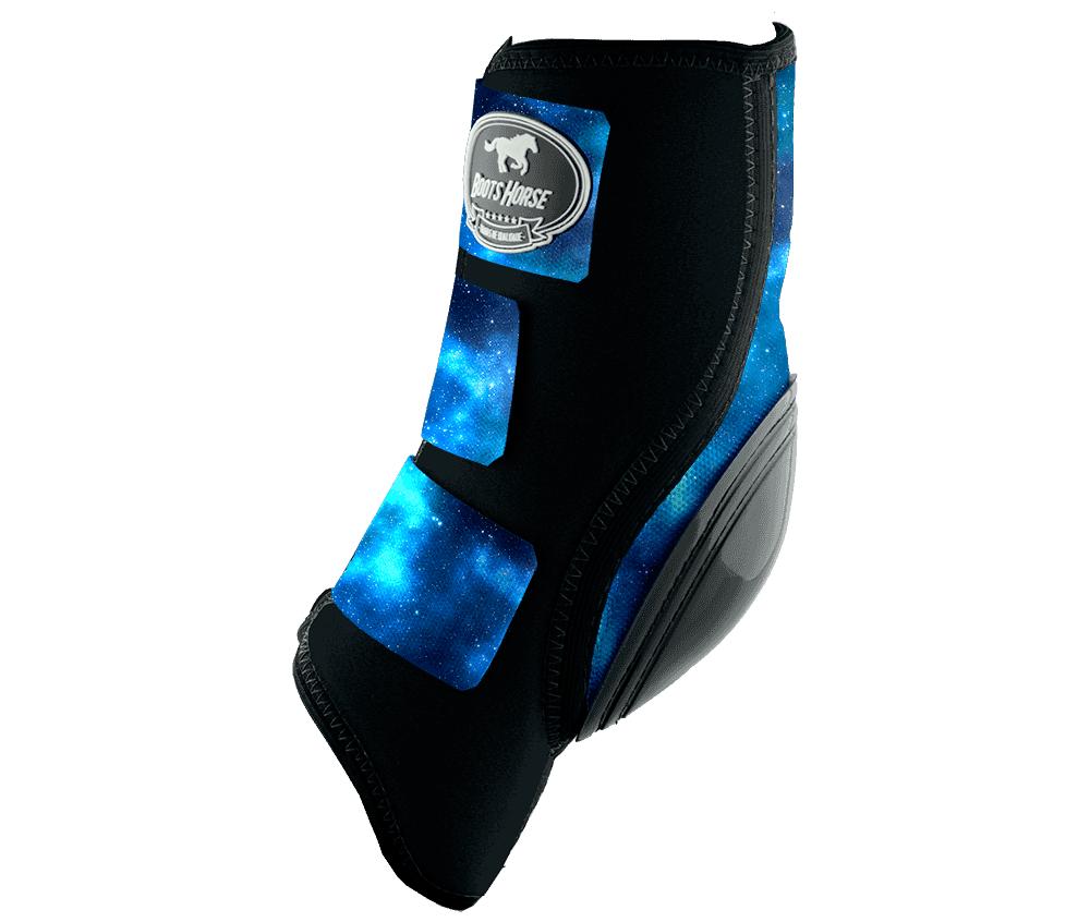 Skid Boot Boots Horse Estampa (Velcro)