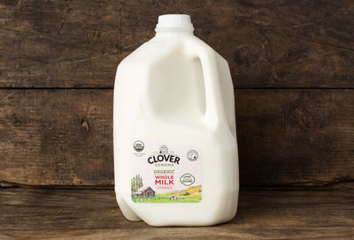 Thumb 400 clover organic whole milk gal
