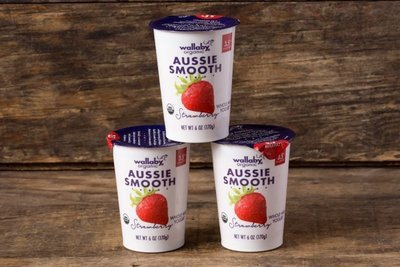 Thumb 400 wallaby organic whole milk yogurt strawberry 3 pack 6 oz