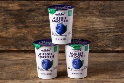 Thumb 400 wallaby organic whole milk yogurt blueberry 3 pack 6 oz