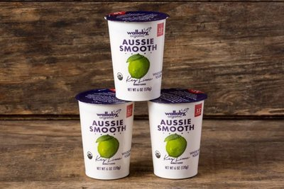 Thumb 400 wallaby organic whole milk yogurt key lime 3 pack 6 oz
