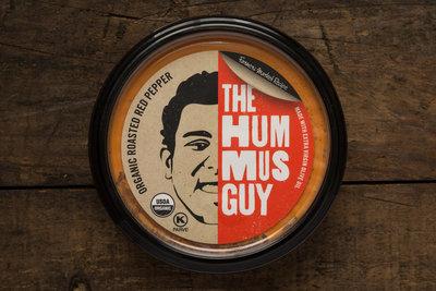 Thumb 400 the hummus guy organic hummus roasted red pepper 10 oz